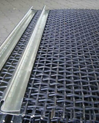 Crimped Wire Mesh with Hook / Wire Mesh model dianyam dengan Hook ( Mill Steel )